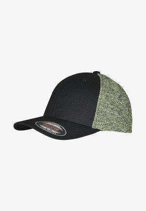 Cap - black/neonyellowmelange
