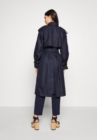 Coach - HOODED - Trenchcoat - raven blue - 2