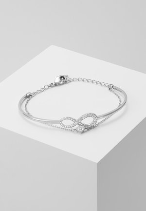 INFINITY BANGLE CHAIN - Armband - silver-coloured