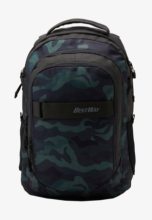 BEST WAY EVOLUTION - Školní taška - olive green / khaki