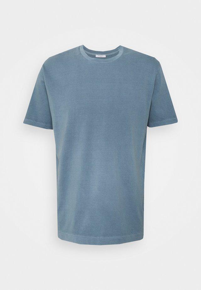 T-shirt - bas - blue denim