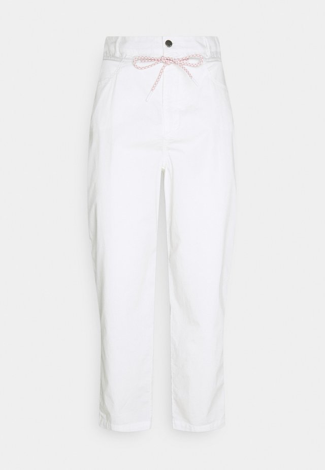 PAGERBAG PANTS - Kalhoty - pearl white