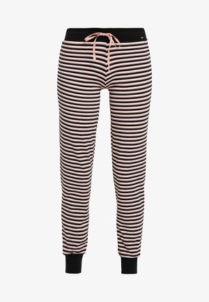 DAMEN HOSE LANG - Pyjama bottoms - rose/black
