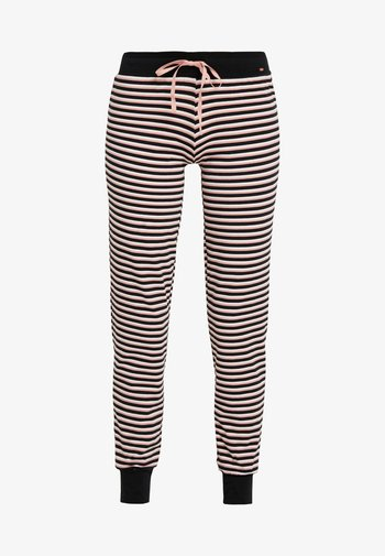 DAMEN HOSE LANG - Pyjama bottoms - rose/black