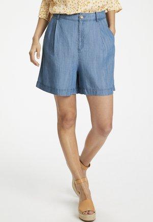 CRISTALPW - Shorts di jeans - light blue denim