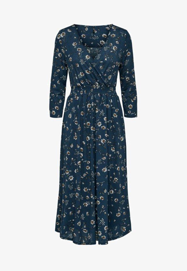 Vestido largo - insignia blue