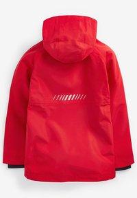 Next - FULLY - Waterproof jacket - red - 1