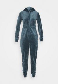 Hunkemöller - ONESIE SLIM - Pyjamas - dark teal - 4