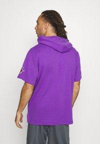 Mitchell & Ness - NBA TORONTO RAPTORS GAMEDAY HOODY - Hoodie - purple/raptors purple - 2