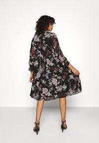 Vero Moda - VMKATINKA DRESS  - Day dress - black - 2