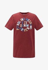Petrol Industries - T-shirt print - red - 0