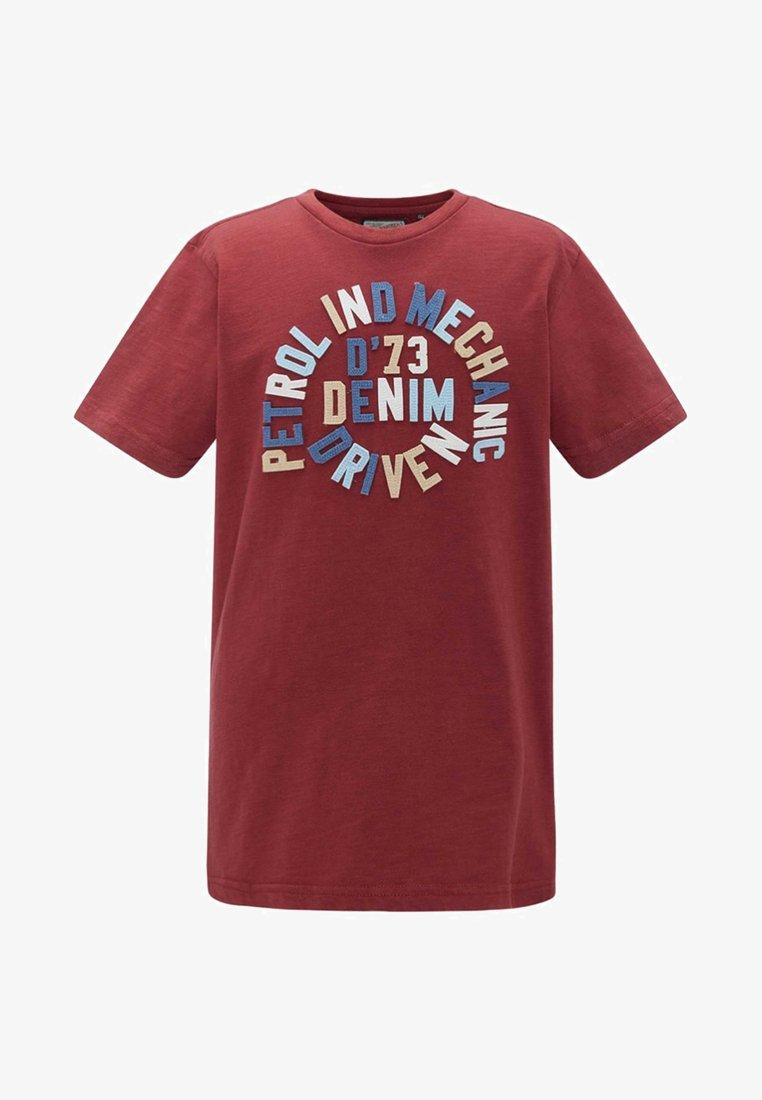 Petrol Industries - T-shirt print - red
