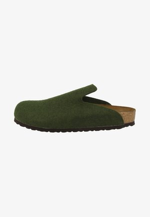 DAVOS REGULAR FIT - Slippers - olive