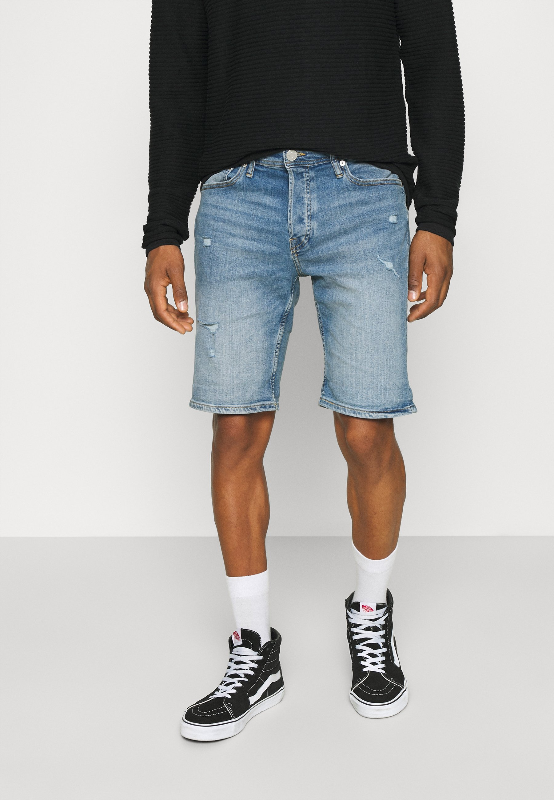 Men JJIRICK JJORIGINAL - Denim shorts