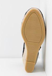 Vidorreta - Sandalias de tacón - black - 6
