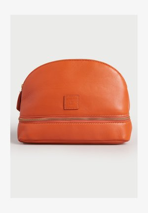 Wash bag - fiery orange