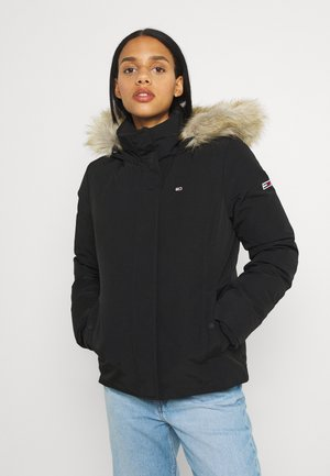 TECHNICAL JACKET - Down jacket - black