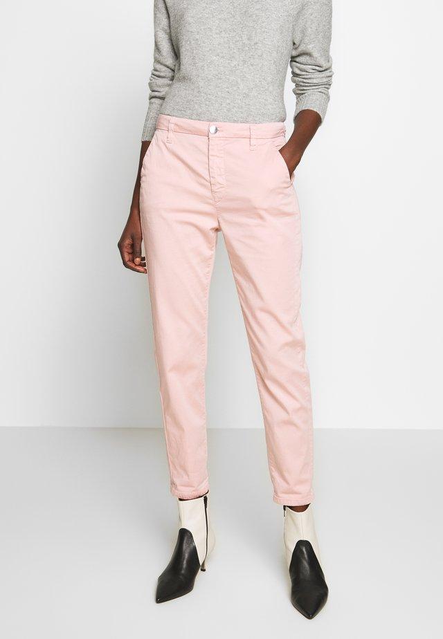 Stoffhose - rosa