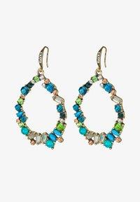 sweet deluxe - Earrings - antikgold-coloured/blau/peach - 3