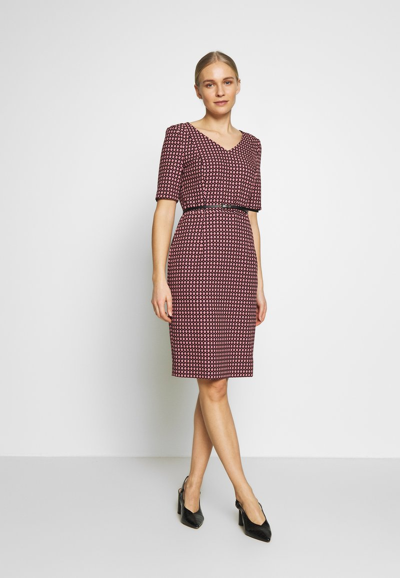 comma - DRESS - Etuikjole - black