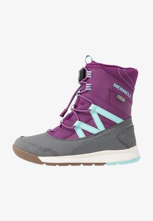 SNOW CRUSH WTRPF - Winter boots - purple/turq