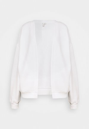 PERFECT CARDIGAN - Zip-up hoodie - white