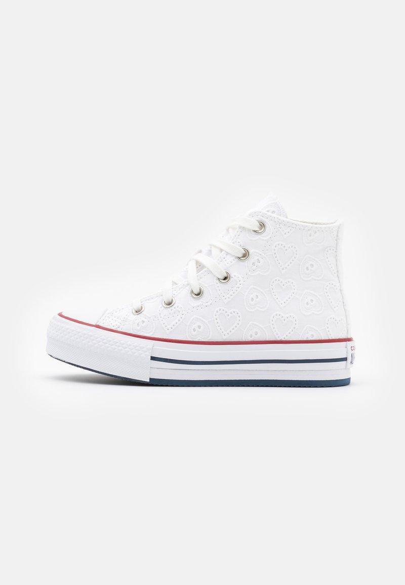 Converse - CHUCK TAYLOR ALL STAR EVA LIFT - Baskets montantes - white/garnet/midnight navy