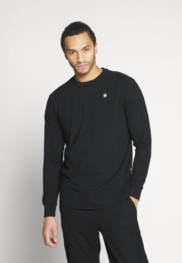 G-Star LASH R T L\S - Bluzka z długim rękawem - black/czarny Odzież Męska TJPU
