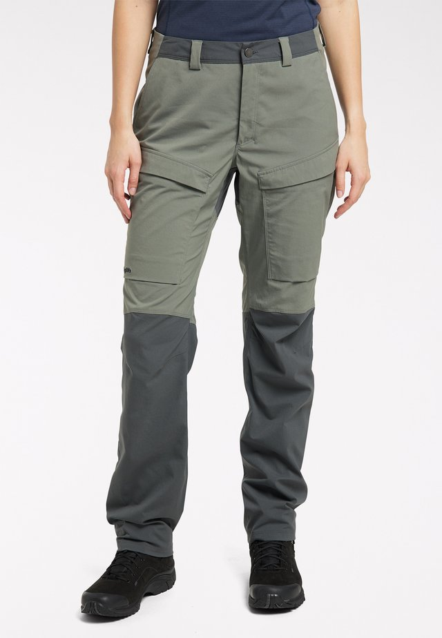 Outdoor trousers - lite beluga/magnetite