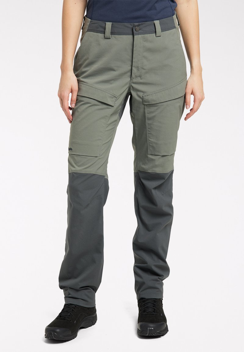 Haglöfs - Outdoor trousers - lite beluga/magnetite