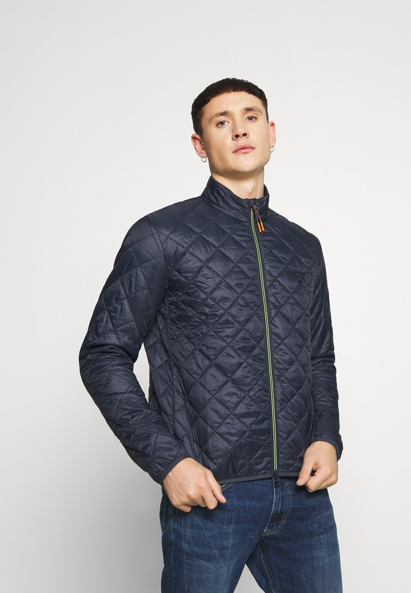 Barbour Beacon - KARL BOX QUILT - Light jacket - navy
