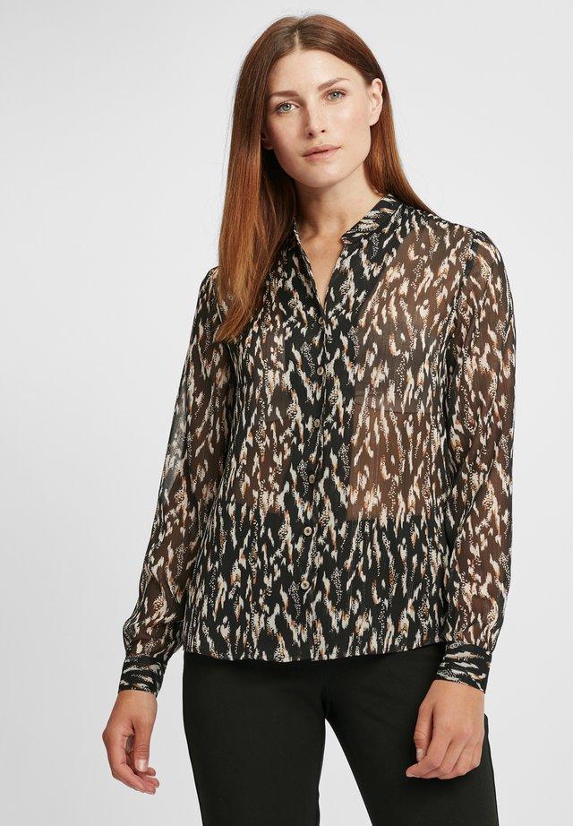 Košile - schwarz/ecru