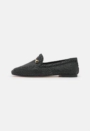 AVIANA 1 - Slippers - black/gold