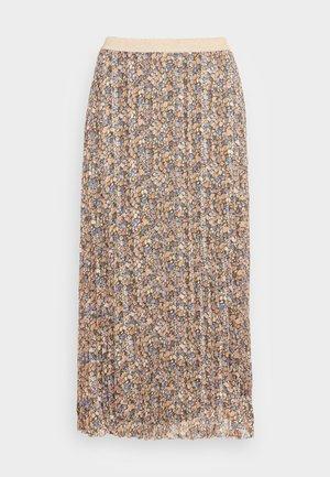SKIRT BLURRED FLOWER - A-snit nederdel/ A-formede nederdele - multi coloured