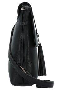 L. CREDI - BELANA - Across body bag - black - 3