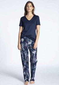 Calida - Pyjama top - dark blue - 1