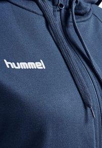 Hummel - HMLGO - Zip-up sweatshirt - true blue - 3