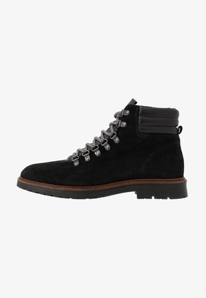 BIACARRICK BOOT - Lace-up ankle boots - black