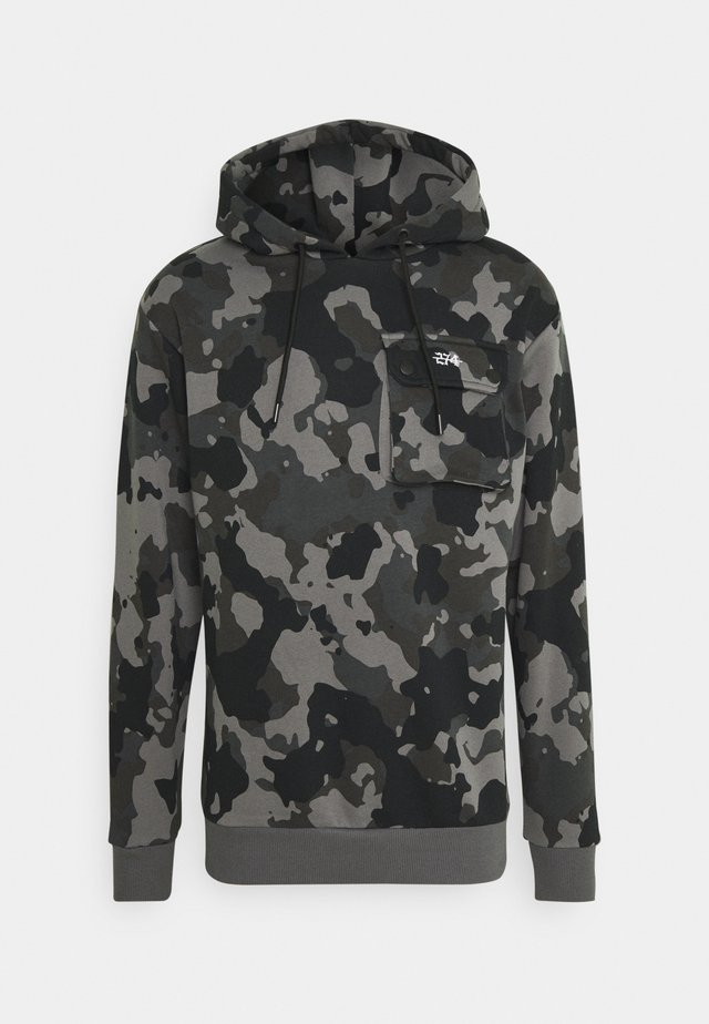 COMBAT HOOD - Sweatshirt - black
