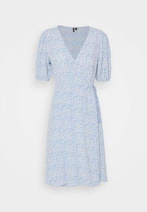 VMHENNA WRAP DRESS  - Day dress - granada sky/graphic