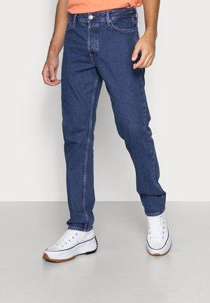 JJICHRIS JJORIGINAL - Jeans straight leg - blue