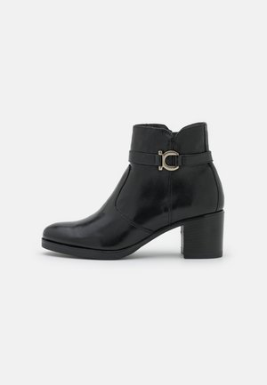 LEATHER  - Ankle boot - black