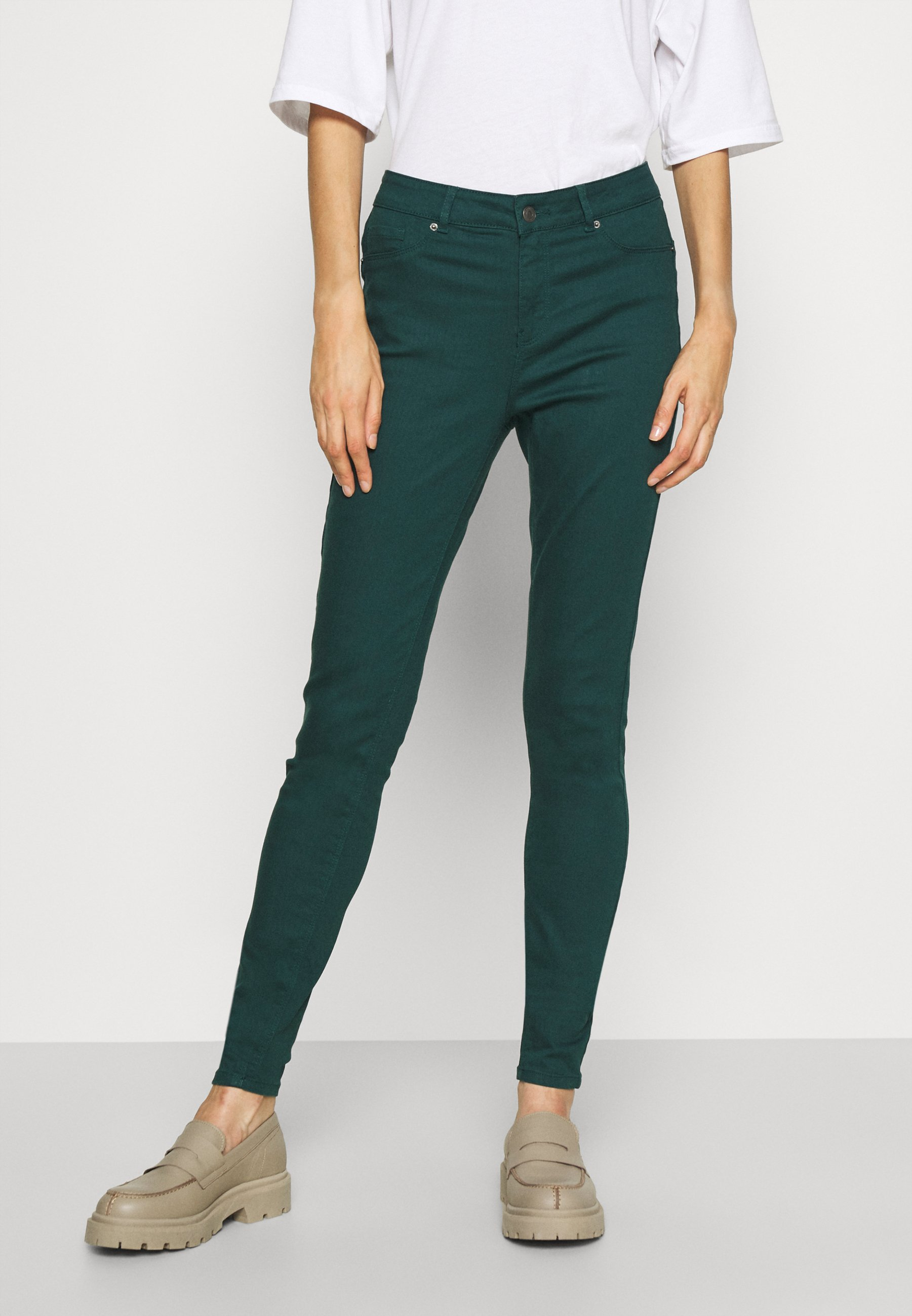 Women VMHOT SEVEN PUSH UP PANT TALL - Jeans Skinny Fit