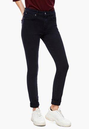 HOSE LANG - Jeans Skinny Fit - dark blue