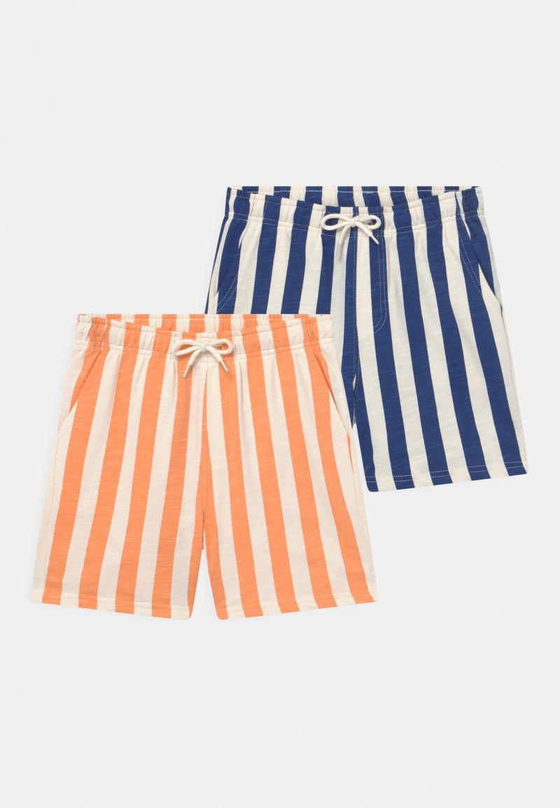 Cotton On - HENRY SLOUCH 2 PACK - Teplákové kalhoty - indigo candy/melon pop candy