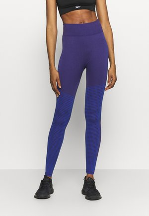 SEASONAL SEAMLESS - Leggings - purple