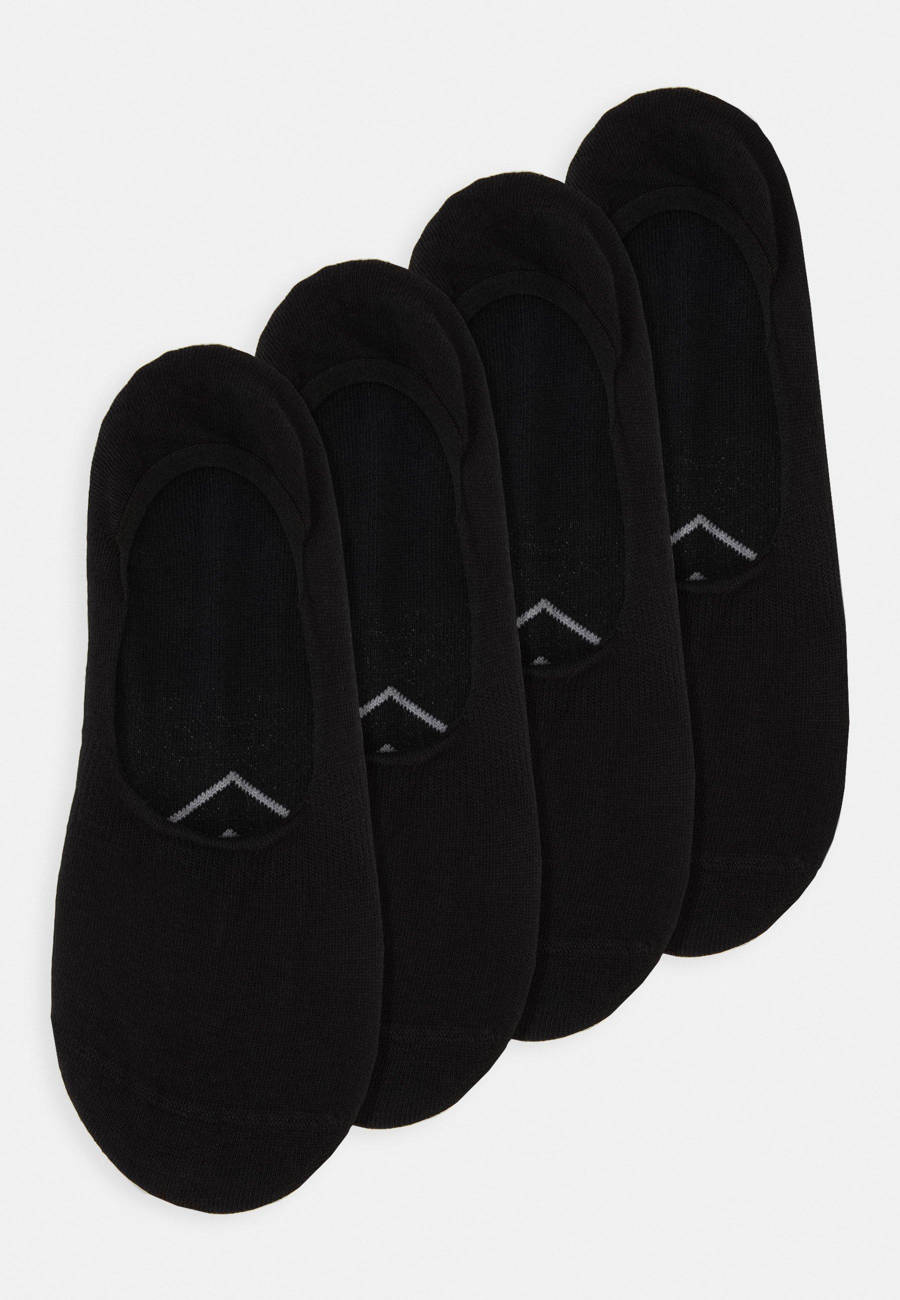 Femme ONLINE WOMEN ORIGINAL FOOTIES 4 PACK - Chaussettes