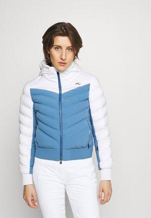 WOMEN BALANCE JACKET - Ski jas - blue/jay white