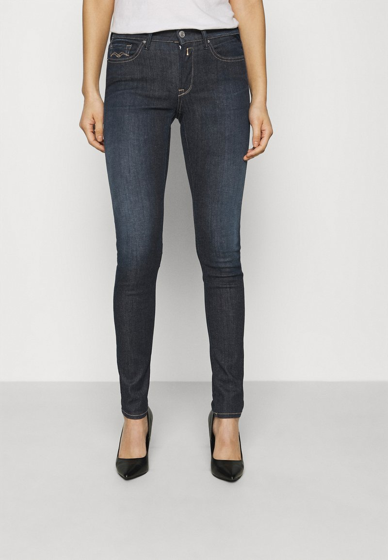 Replay - NEW LUZ PANTS RE-USED - Jeans Skinny Fit - dark blue