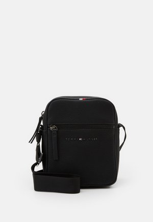 ESSENTIAL MINI REPORTER - Torba na ramię - black